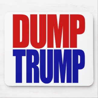 """DUMP TRUMP"" MOUSE PAD"