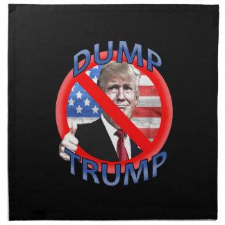 Dump Trump Napkin