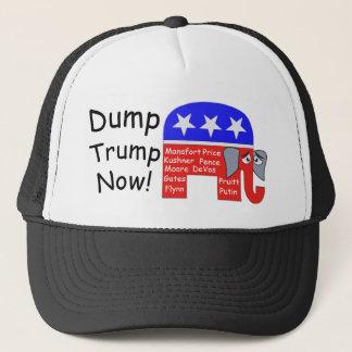 Dump Trump Now Trucker Hat