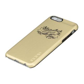Dump Trump Pretty Floral Phone Case Incipio Feather® Shine iPhone 6 Case
