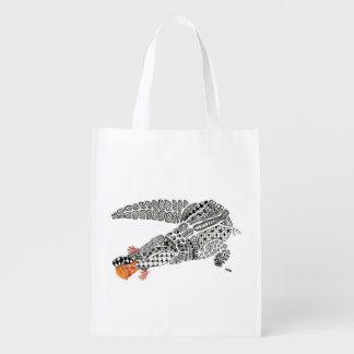 dump trump reusable grocery bag