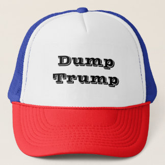 Dump Trump Trucker Hat