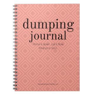Dumping Journal - Tangerine