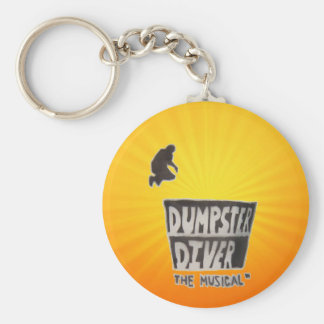 Dumpster Diver the musical™ official keychain