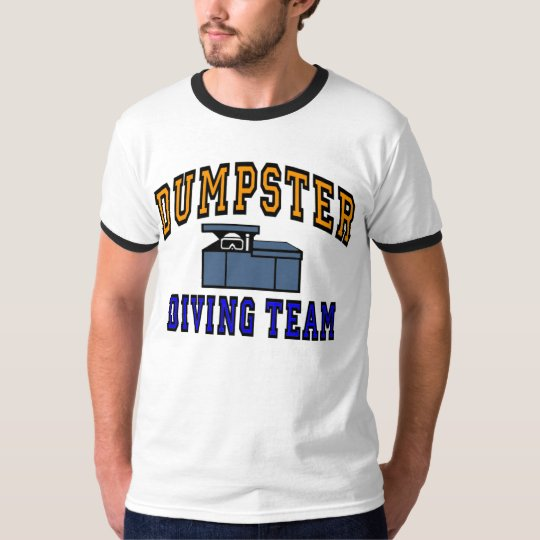 Dumpster Diving Team Logo T-Shirt