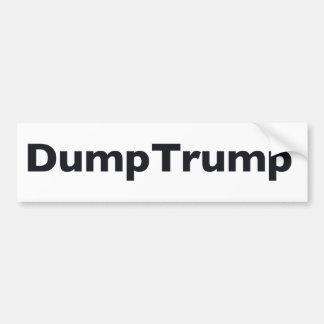 DumpTrump Bumper Sticker