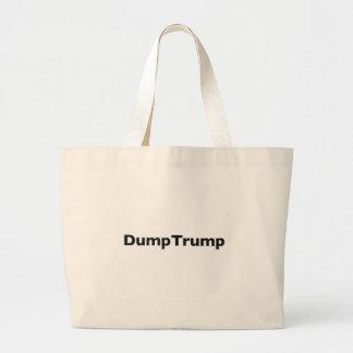 DumpTrump Large Tote Bag