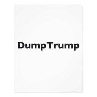 DumpTrump Letterhead