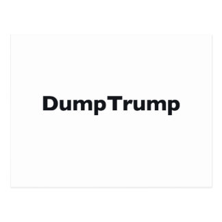 DumpTrump Postcard