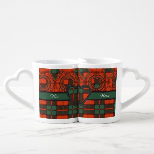 Dunbar clan Plaid Scottish tartan Coffee Mug Set