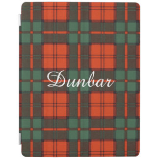 Dunbar clan Plaid Scottish tartan iPad Cover