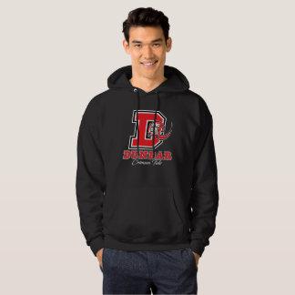 Dunbar Crimson Tide Men's Hooded Sweatshirt (Dark)