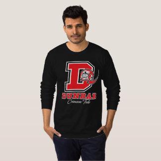 Dunbar Crimson Tide Men's Long Sleeve TShirt(Dark) T-Shirt