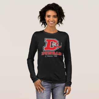 Dunbar Crimson Tide Women's Dark Long Sleeve T-Shirt