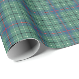 Duncan Clan Ancient Tartan Wrapping Paper