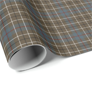 Duncan Clan Weathered Tartan Wrapping Paper