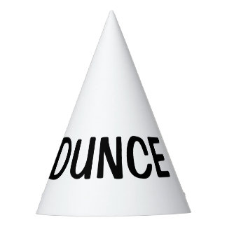 Dunce Hat - DIY custom party hats