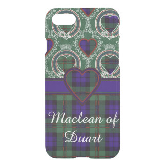 Dundas clan Plaid Scottish tartan iPhone 7 Case