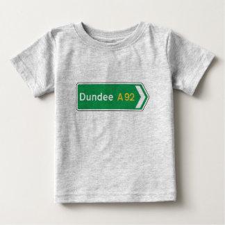 Dundee, panneau routier BRITANNIQUE Tee Shirts