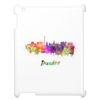 Dundee skyline in watercolor cover for the iPad 2 3 4