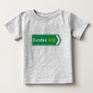 Dundee, UK Road Sign T Shirts