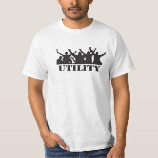 Dundee Utility Casual t-shirt,80's hooligan theme. T-Shirt