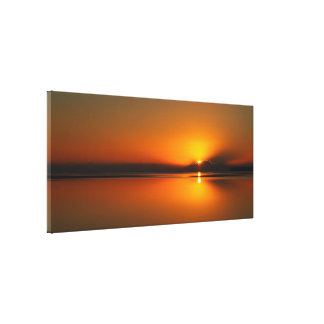 Dundowran Beach sunrise canvas print