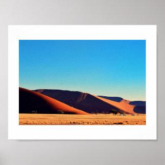Dune 45 Sossusvlei Naib Desert Sand Africa Poster