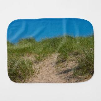 Dune And Oats Burp Cloth