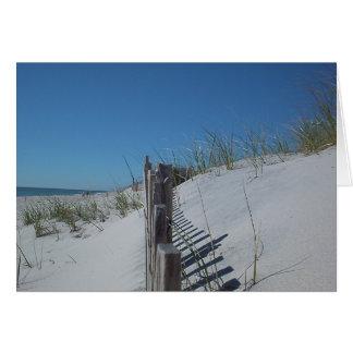 Dune Fence Card