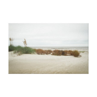 Dune Grass on a Cloudy Day Canvas Print