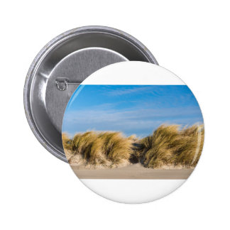 Dune on the beach of the Baltic Sea 2 Inch Round Button
