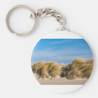 Dune on the beach of the Baltic Sea Keychain