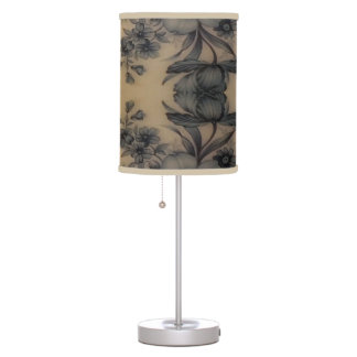 Dune Pale Oyster Flora Table Lamp