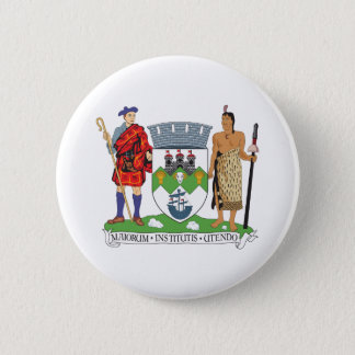 Dunedin Coat Of Arms 2 Inch Round Button