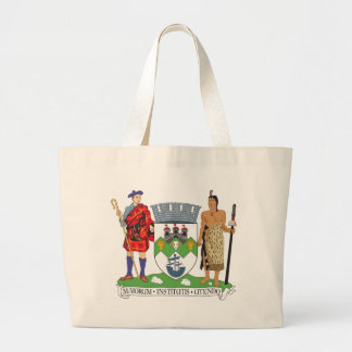 Dunedin Coat of Arms Large Tote Bag