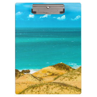Dunes and Ocean Jericoacoara Brazil Clipboard