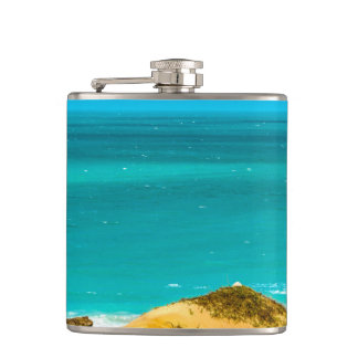 Dunes and Ocean Jericoacoara Brazil Flask