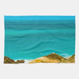 Dunes and Ocean Jericoacoara Brazil Kitchen Towel