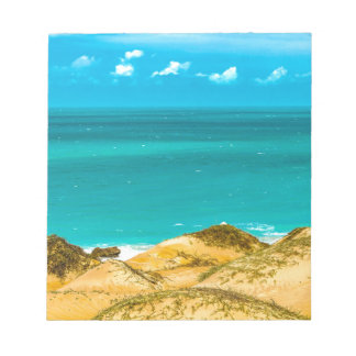 Dunes and Ocean Jericoacoara Brazil Notepad