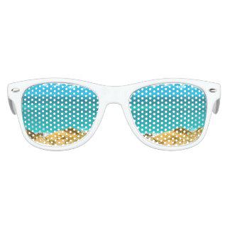Dunes and Ocean Jericoacoara Brazil Party Sunglasses