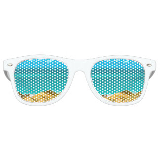 Dunes and Ocean Jericoacoara Brazil Party Sunglasses