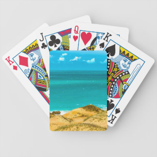 Dunes and Ocean Jericoacoara Brazil Poker Deck