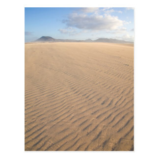 Dunes of Corralejo, Fuerteventura, Canary islands Postcard