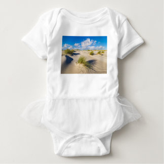 Dunes on the North Sea island Amrum Baby Bodysuit