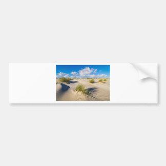 Dunes on the North Sea island Amrum Bumper Sticker