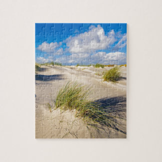 Dunes on the North Sea island Amrum Jigsaw Puzzle