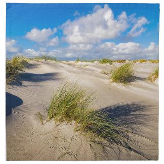 Dunes on the North Sea island Amrum Napkin