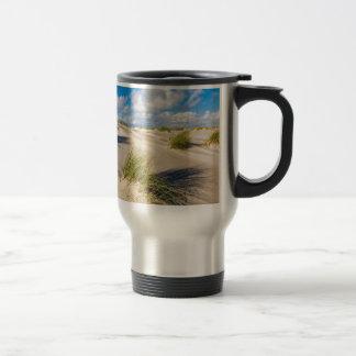 Dunes on the North Sea island Amrum Travel Mug