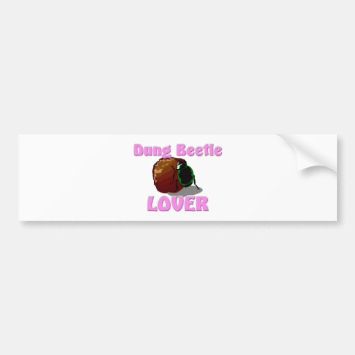 Dung Beetle Lover Bumper Stickers